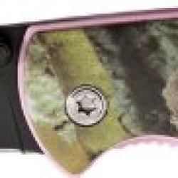 Elk Ridge Pink Camo Linerlock.