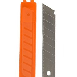 Zico Zi-4054 18Mm Snap-Off Utility Knife Blades - Sk5 Steel - 10 Pack