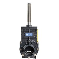 """4"""" Socket Pvc Knife Gate Valve With Air Actuator"""