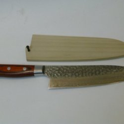 Kitchen Knife Santoku Damascus 33 Layer.