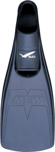 GULL ミュー フィン GF-2022 Lサイズ ブラック