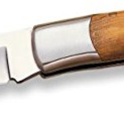 Joker No06Usa Olive Wood Folding Pocket Knife, 3.51-Inch
