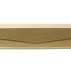 Paper Mache Keepsake Box Medium Slim Rectangle By Craft Pedlars