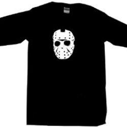 Jason Hockey Mask Logo Men'S Sweat Shirt Xxl-Black