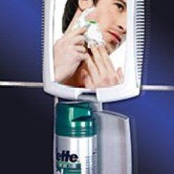 Z`Fogless Traveler Folding Shaving Mirror