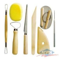 Alvin & Co. Cs260 Pottery Tool Kit 9Pc Set
