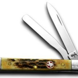 Case Xx Texas Stag Baby Doctor 1/250 Pocket Knives
