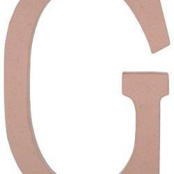 23.5 Inch Paper Mache Letter: Large Letter G
