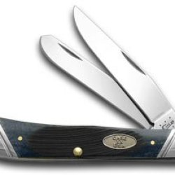 Case Xx Sawcut Jigged Gray Bone Sloped Bolster Trapper Pocket Knife Knives