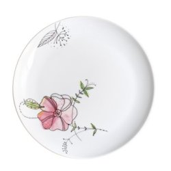 Kahla Five Senses Breakfast Plate 8-3/4 Inches, Wonderland Color, 1 Piece