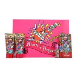 Christian Audigier Hardy Hearts And Daggers 4 Piece Gift Set For Women