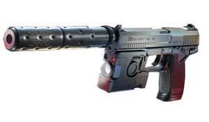 ソーコムMK23 プロトモデル 固定スライド + マルイBB弾0.2g(3200発) + ガス(480g)セット ロングレンジセット