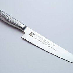 Yoshihiro Sr-1 120Mm Stain-Resistant Steel Petty Japanese Chef Knife, 4.75-Inch