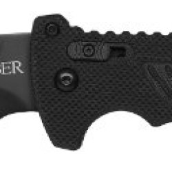 Gerber 31-000582 Dmf Modified Clip Point Partially Serrated Folder Knife