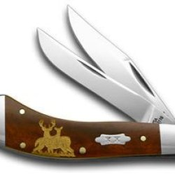 Case Xx Buck And Doe Smooth Chestnut Bone 1/500 Saddlehorn Pocket Knife Knives