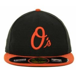 Baltimore Orioles Mlb Authentic Baseball Cap 7-3/8 Osfa - Like New