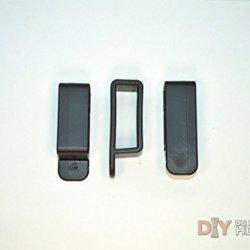 Diy Kydex Holster Belt Loops, 1.25 Inch Belts, Black - 10 Pack
