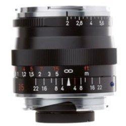 Zeiss 35Mm F/2 Zm Biogon T* Manual Focus Lens ( Black)
