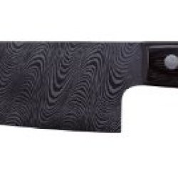 Kyocera Kyotop Kt-140-Hip-D Damascus 5-1/2-Inch Santoku Knife With Pakka Wood Handle