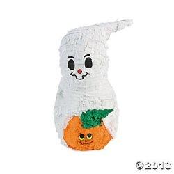 Papier-Mâché Ghost Piñata