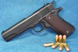 CAW モデルガン 限定生産品 アルゼンチンアーミー .45Auto Colt Modelo 1927 ヘビーウェイト HW ブラック ダミーカート仕様