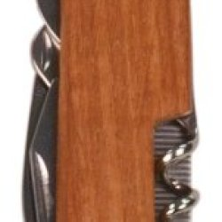 "Wood 3.5"" 8 Function Pocket Knife"