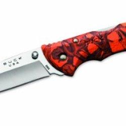 Buck Knives 0286Cms12 Bantam Knife, Orange Head Hunterz