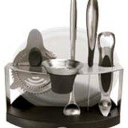 Oxo Steel 7-Piece Barware Set
