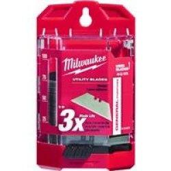 Milwaukee 48-22-1975 75 Pc General Purpose Utility Blades W/ Dispenser
