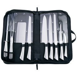 Slitzer 10Pc Professional Surgical Stainless Steel Cutlery Set , Slitzer Rostrei 10Pc Pro Ss
