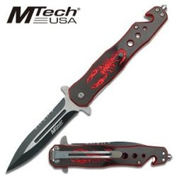 Mtech Usa Mt-579Br Fantasy Folding Knife (4.5-Inch Closed)