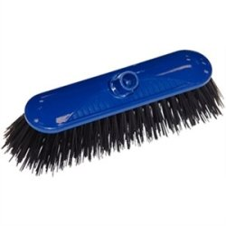 "Contract Broom Head Colour: Blue. Size: 10.5""."