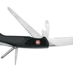 Wenger 16302 Swiss Army Ranger 56 Knife, Black