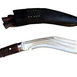 "Genuine Gurkha Hand Forged Kukri - 12"" Blade 3 Fuller Farmer Khukuri - Handmade By Kukriwholesale In Nepal"