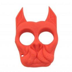 Brutus The Bull Dog - Self Defense Keychain- Red