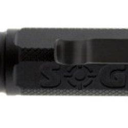 Sog Specialty Knives & Tools De-02 Darkenergy 247A Aluminum Tactical Led Flashlight, Hard Anodized Black Finish