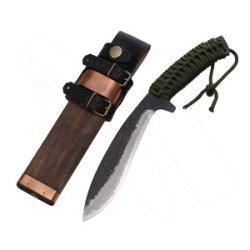 Kanetsune - Asobi, 5.91 In. 15 Layer Damascus, Para. Cord Wrap Handle