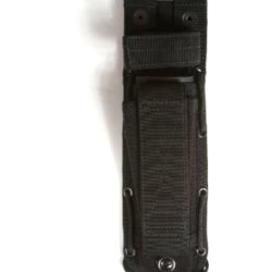 Spec-Ops Brand Combat Master Knife Sheath 6-Inch Blade (Black, Short)