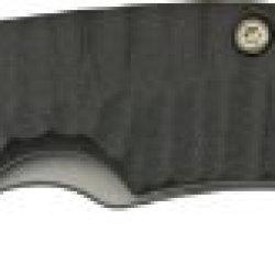 Spyderco Perrin Ppt Black G-10 Plainedge Knife