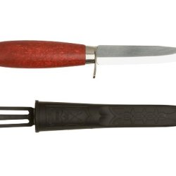Morakniv Classic Craftsmen 612 Utility Knife With Carbon Steel Blade And Finger Guard, 4.2-Inch