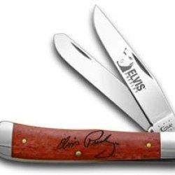 Case Xx Old Red Bone Elvis Presley Trapper Pocket Knife Knives