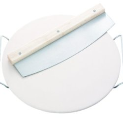 Dr. Oetker 2468 Pizza Stone With Chopping Knife