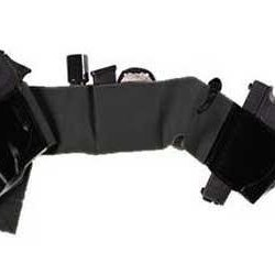 Galco Uwbksm Underwraps Belly Band (Black, Ambi)