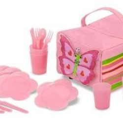 Melissa & Doug Sunny Patch Bella Butterfly Picnic Set Children, Kids, Game