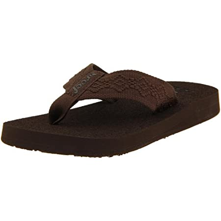 The Reef Sandy Thong is a classic style that's essential for beach and play. Product Features: Mid-width woven polyester strap for comfort Brushed EVA foot bed for comfort and traction Reef-flex triple density eva construction Durable high density EV...