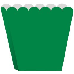 Creative Converting Treat Boxes, Green, 8 Per Package