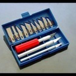 J1022 - Precision Knife Set 16 Pieces With Case (813Pksp) S