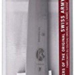 Victorinox Cutlery 8-Inch Carving Knife, Stiff Blade, Black Fibrox Handle