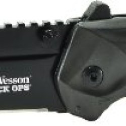 Smith & Wesson Swblop3T Ops M.A.G.I.C. Assisted Opening Liner Lock Folding Knife, Black
