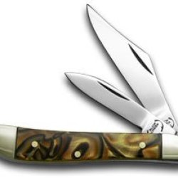 Buck Creek Sea Biscuit Corelon Peanut Pocket Knife Knives